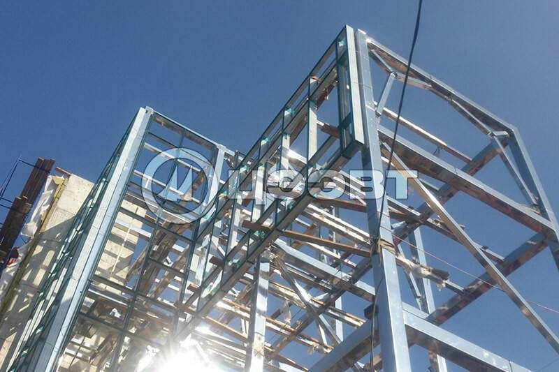 Металлоконструкции из нержавеющей стали на заказ. Рис. 1
