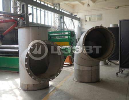 Газоходы и детали трубопроводов рис.1