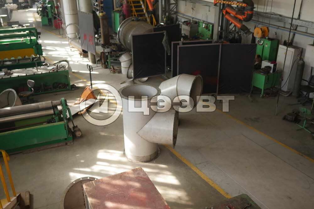 Газоходы и детали трубопроводов рис.3